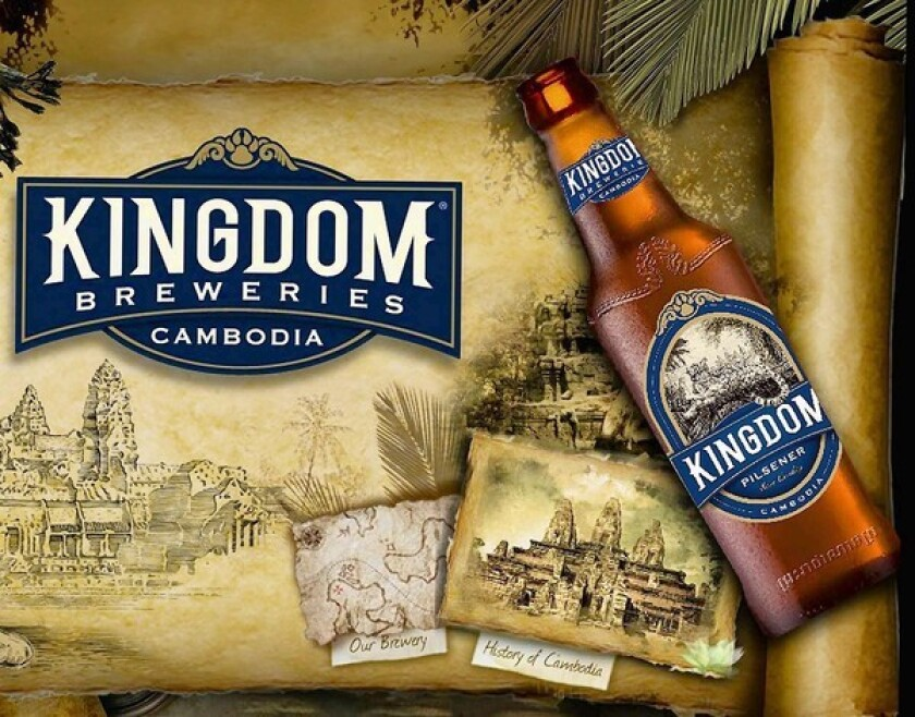 Cambodian beer