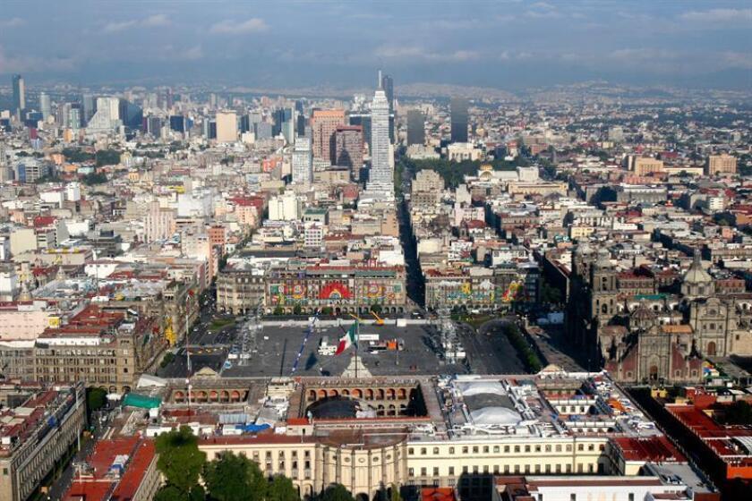 Vista panorámica de Ciudad de México. EFE/Archivo
