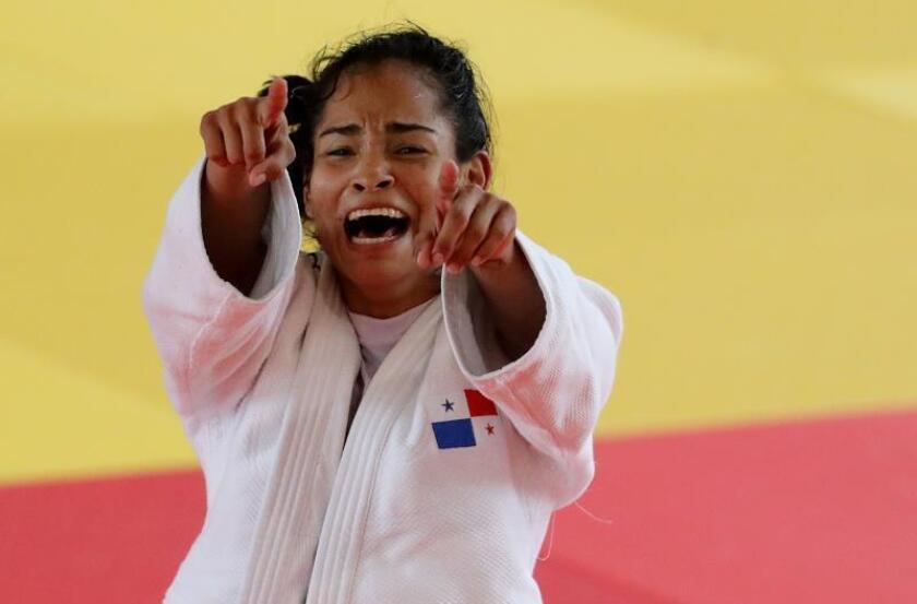 Judoca panameña medallista en los Panamericanos reclama por poco apoyo al deporte