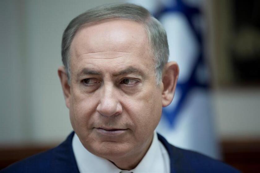 El presidente, Donald Trump, planea compartir este miércoles con el primer ministro israelí, Benjamín Netanyahu, sus ideas para revivir el estancado proceso de paz entre Israel y los palestinos, que según informes de prensa incluyen la mediación de países árabes como Egipto y Arabia Saudí. EFE/Archivo