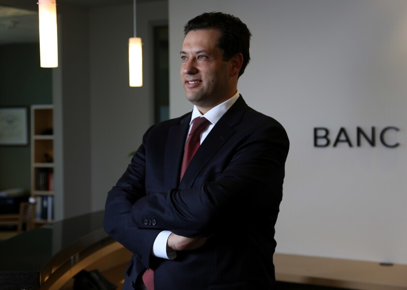 Steve Sugarman, who has stepped down as chief executive and chairman of Banc of California, in 2014.