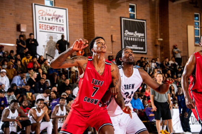 UCLA forward Shareef O'Neal made his on-court return from heart surgery on June 15 at the Drew League.