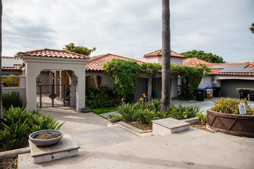 This La Jolla Farms mansion has been rented out through Airbnb and was the subject of at least 30 calls to San Diego police.