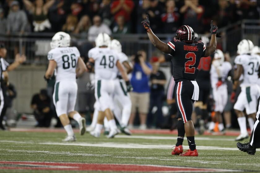 Michigan St Ohio St Football