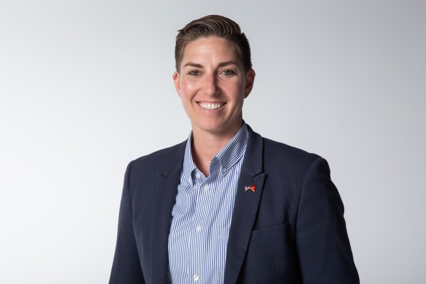 Janessa Goldbeck, candidate for the 53rd Congressional District