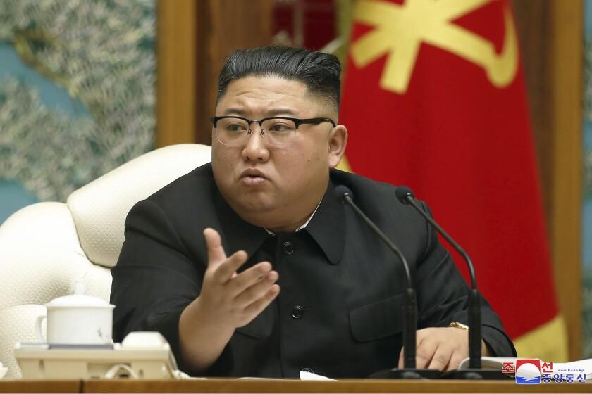 En esta imagen de archivo, distribuida el 15 de noviembre de 2020 por el gobierno de Corea del Norte
