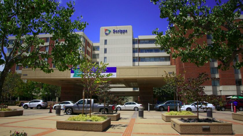 Scripps Memorial Hospital in La Jolla.