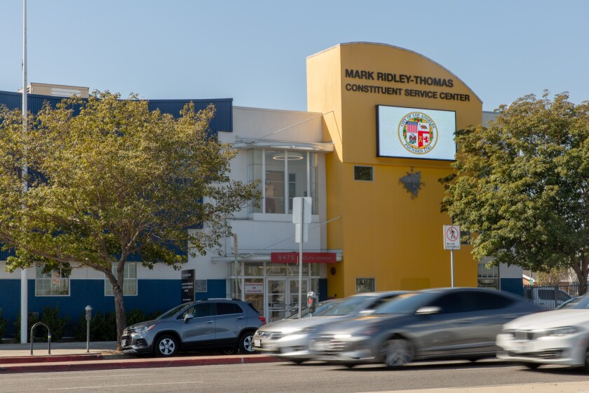 The Mark Ridley-Thomas Constituent Service Center in Los Angeles.