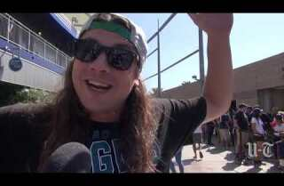 Eagles fans take over StubHub vs. Chargers
