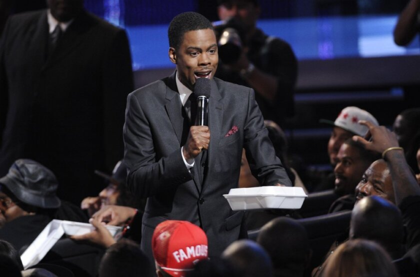 """Chris Rock, shown at the BET Awards in June, will bring a rare directorial effort to Toronto, """"Top Five."""""""