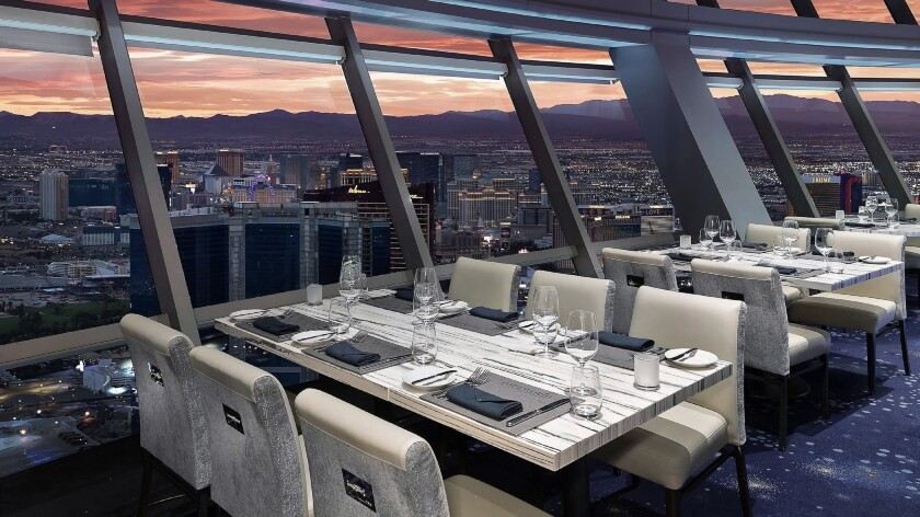 Vegas' Stratosphere hopes to hit new heights with a new chef and a revamped menu