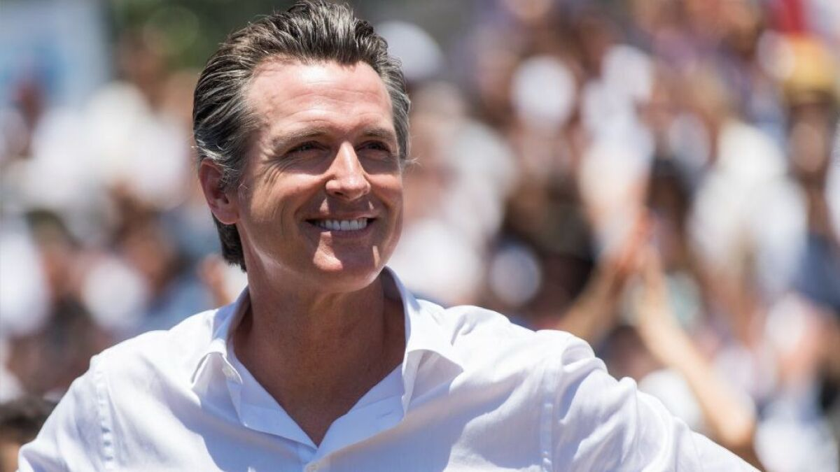 71c1857e0c5 7 things to know about Gavin Newsom, California's new governor - The San  Diego Union-Tribune