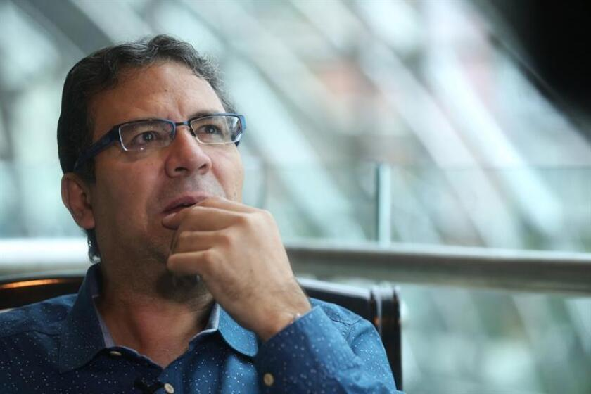 En la imagen, el cronista colombiano Alberto Salcedo Ramos. EFE/Archivo
