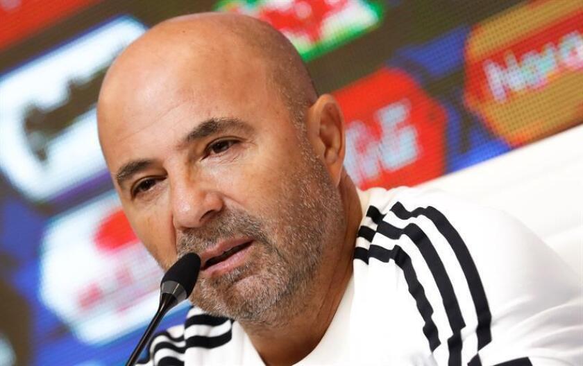 En la imagen, el seleccionador argentino Jorge Sampaoli. EFE/Archivo