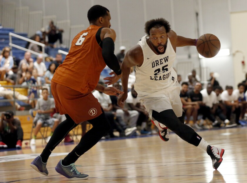 Baron Davis dreams of an NBA comeback