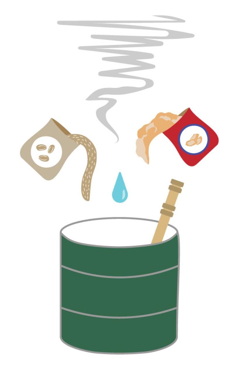 Sake ingredients