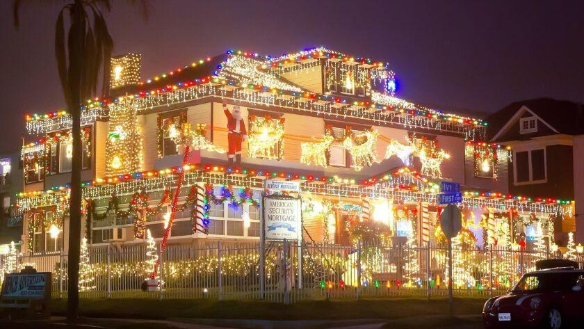 Christmas Displays San Diego Ca 2020 2018 guide to Christmas tree and menorah lightings in San Diego
