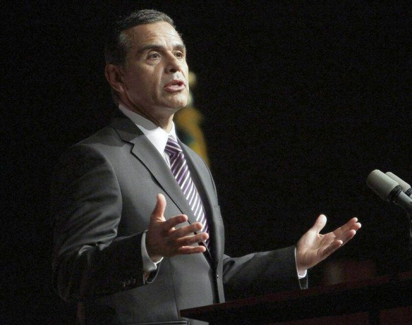 In accepting a job as senior advisor for Herbalife Ltd., Antonio Villaraigosa saluted the company's strong presence in the Latino community. But some critics have accused Herbalife of operating a pyramid scheme.