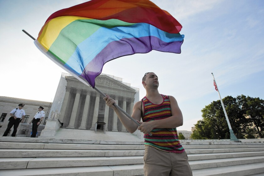The Supreme Court announced Friday that it would take up the issue of same-sex marriage this year.