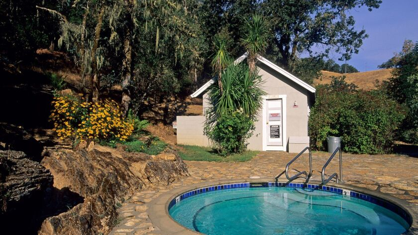 Vichy Springs Resort Country Inn near Ukiah Mendocino County California