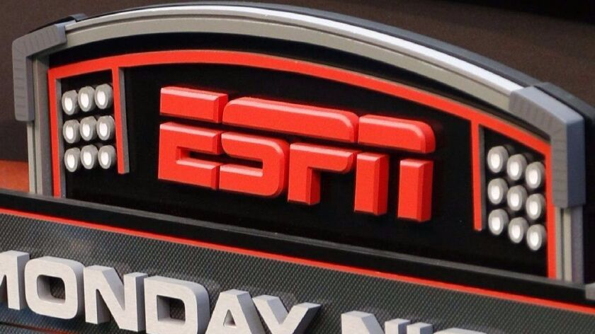 ESPN is laying off about 150 employees.