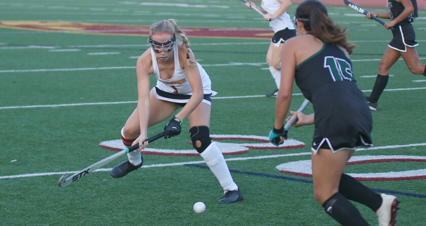 Senior Paige Boyes was part of a standout Torrey Pines defensive effort.