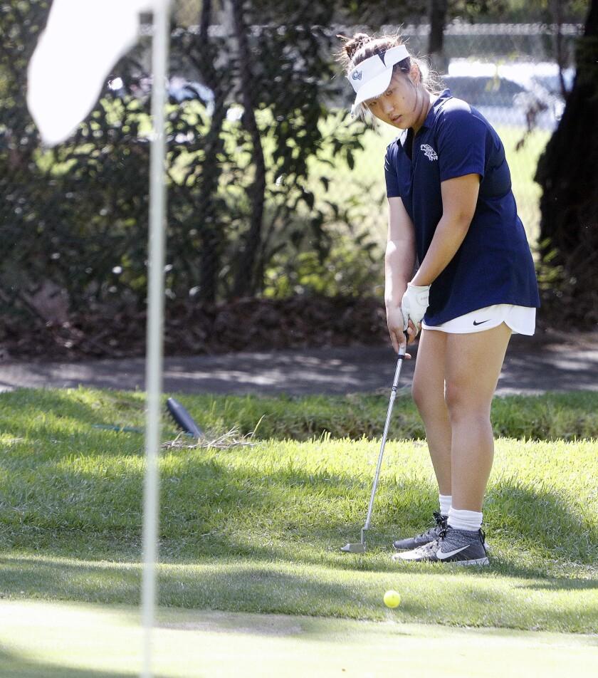 Photo Gallery: Magnolia Park Optimist Club Girls High School Golf Tournament at De Bell Golf Club