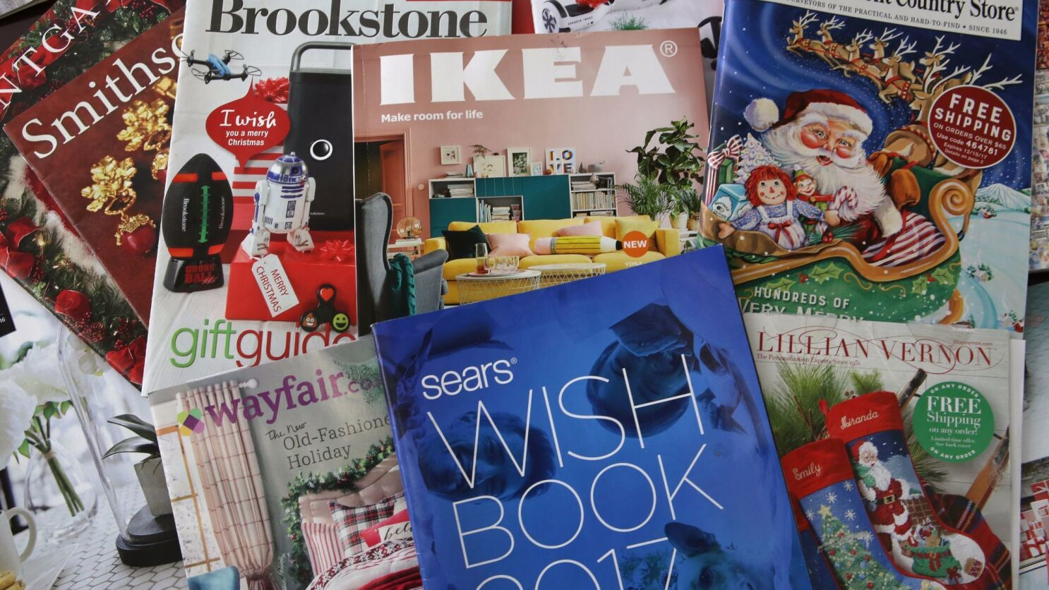 Christmas Mail Order Catalogs 2021 The Old Fashioned Mail Order Catalog Is Making A Comeback Los Angeles Times
