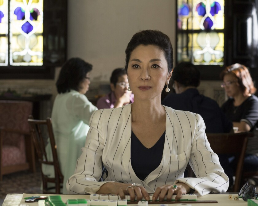 "This image released by Warner Bros. Entertainment shows Michelle Yeoh in a scene from the film ""Craz"