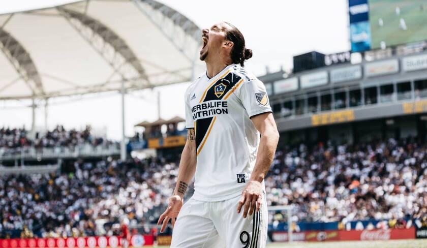 Zlatan Ibrahimovic, fichaje estelar del Galaxy de Los Ángeles.