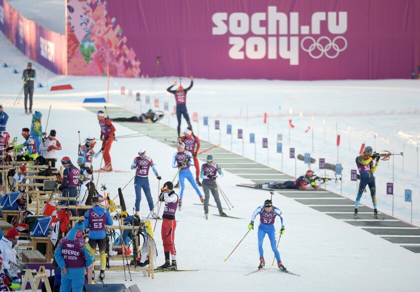 Security at Olympics in Sochi, Russia