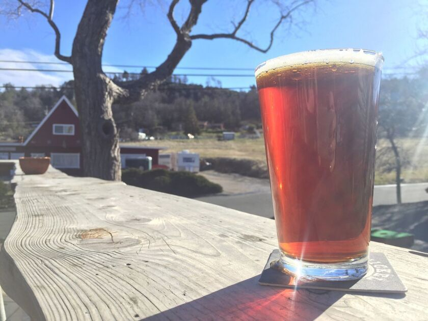 Head out to Julian to enjoy this malty, Irish Red Ale from Nickel Beer Co.