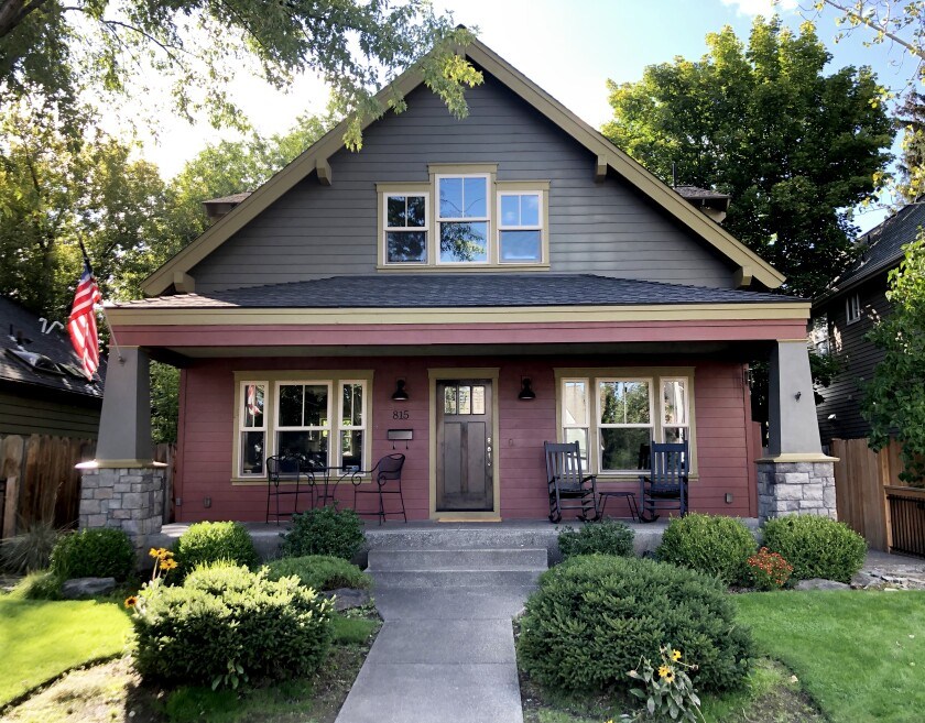 Harmon Park Bungalow rents for $224 per night (seasonal), plus tax and fees in Bend, Ore.