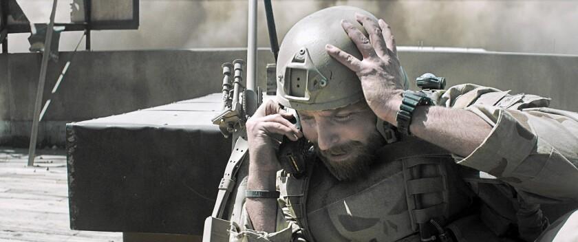 """Bradley Cooper plays Chris Kyle in """"American Sniper."""""""