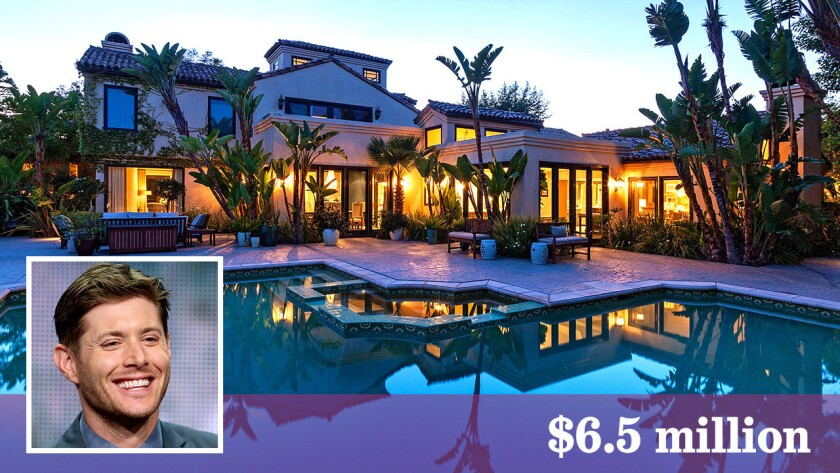 """""""Supernatural"""" actor Jensen Ackles has sold his retreat in Malibu for $6.5 million."""