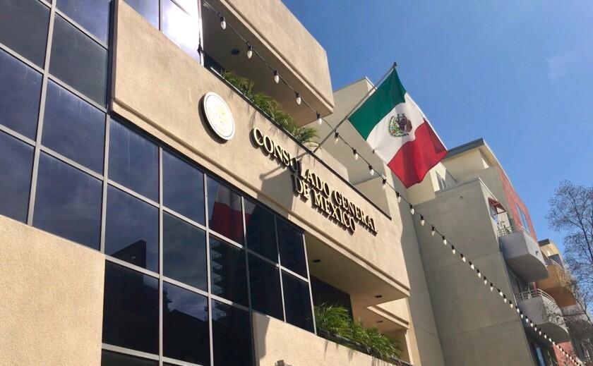 Fachada del consulado de México en San Diego.JPG