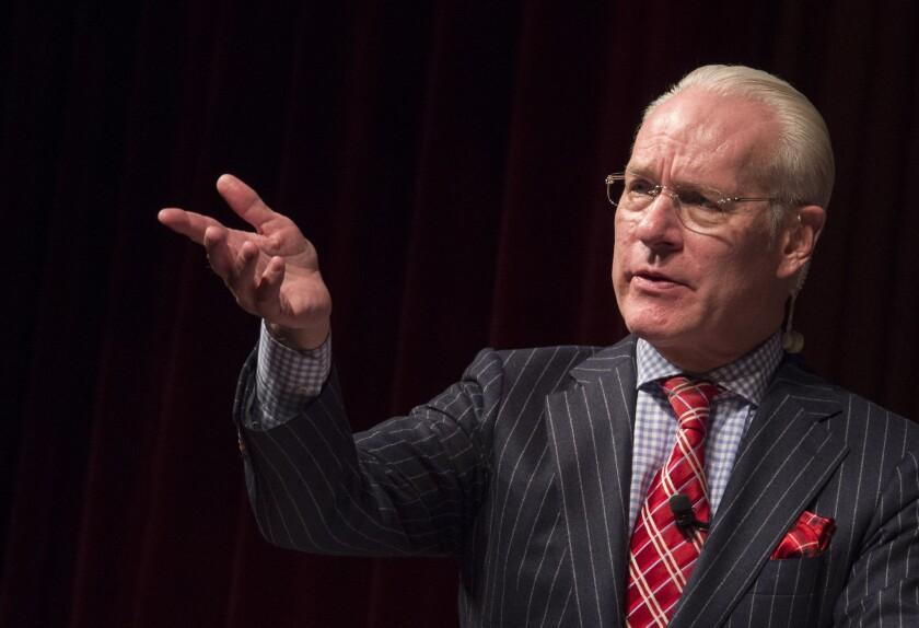 Tim Gunn during a 2015 speaking engagement.