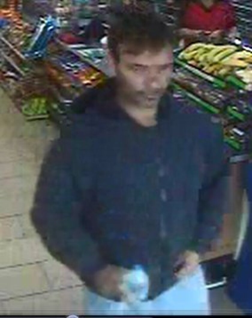 A photo of the kidnapping/carjacking suspect. / San Diego Police Department