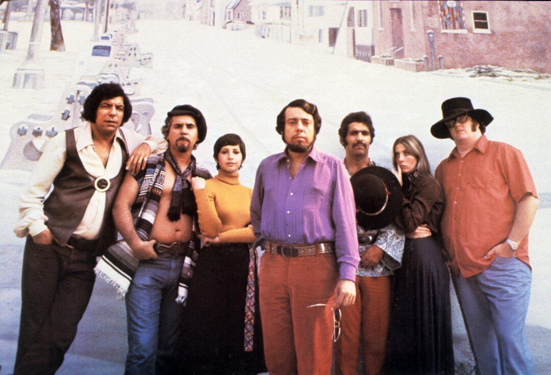 Sergio Mendes e Brasil 77, retrato, 1977. (Arquivo GAB / Foto de Redferns)