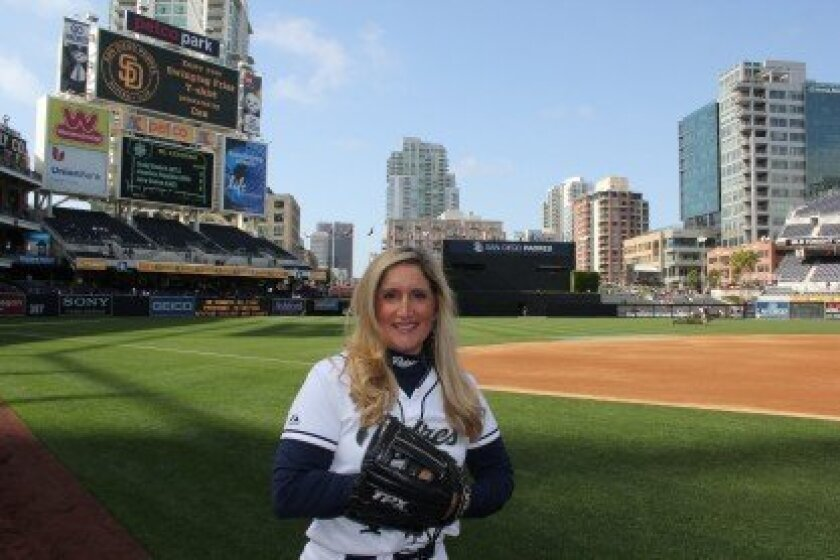 Carmel Valley's Nina Detrow has been a Padres ball girl for 15 seasons.