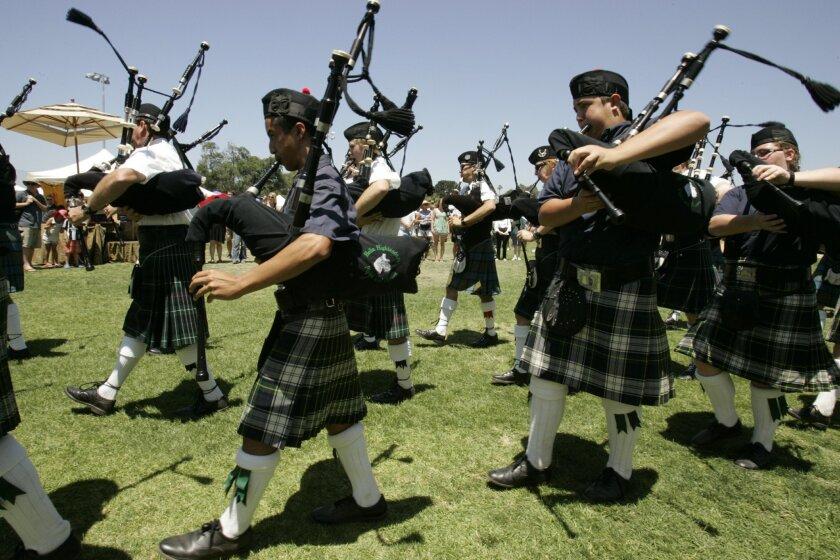 The Highland Games in Vista