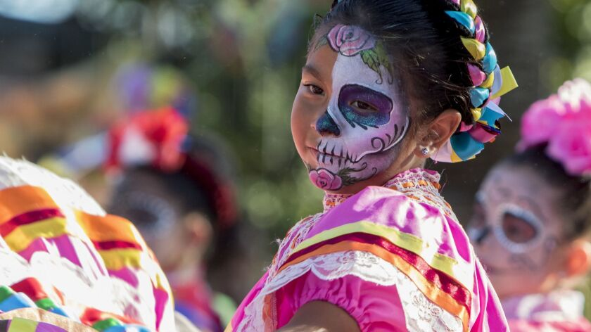 Día de los Muertos, the multiday Mexican holiday that celebrates life while honoring the dead, is observed with events throughout San Diego County, including at the Sherman Heights Community Center this weekend.