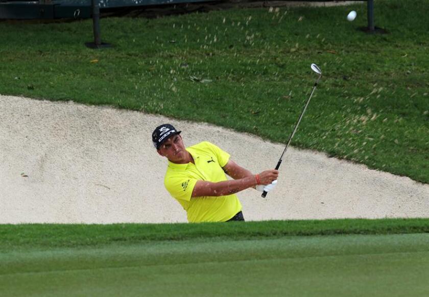 En la imagen, el golfista estadounidense Rickie Fowler. EFE/Archivo