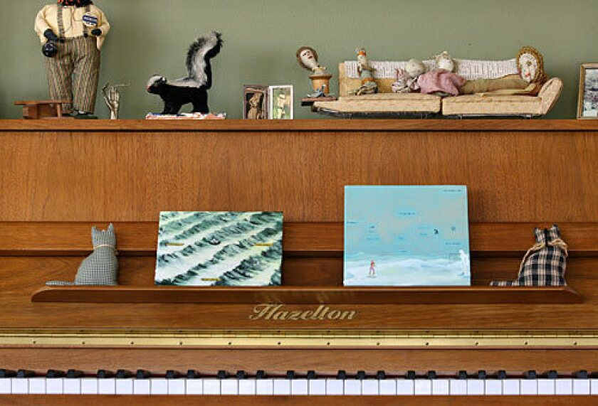 In many homes these days, a piano isn't so much a musical instrument as it is just another piece of furniture.