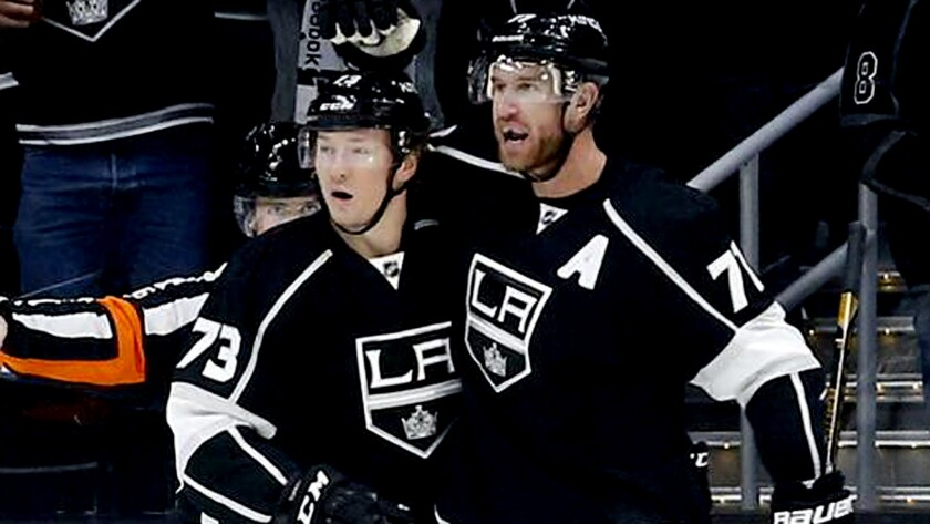 Jeff Carter takes on more of a leadership role as Kings return to the playoffs