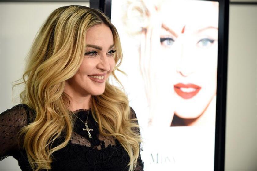 Fotografía de archivo de la súper estrella del pop Madonna. EFE/Archivo