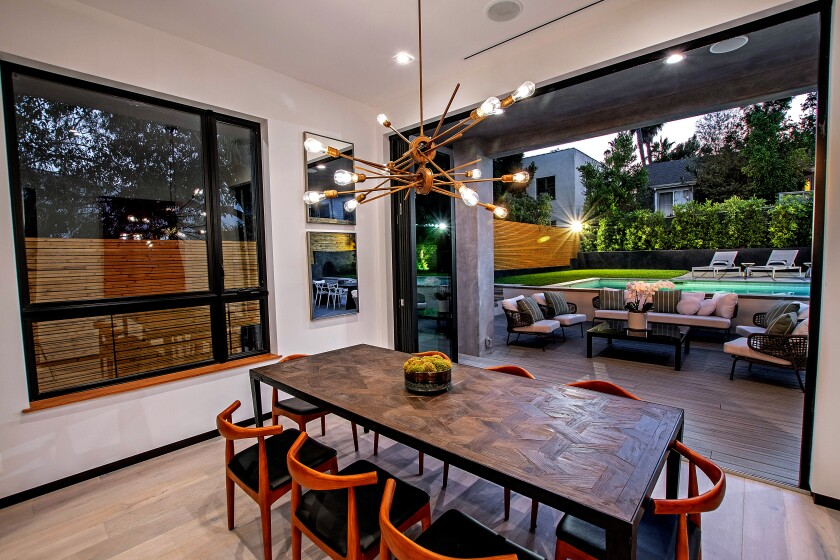 The newly built Home of the Week in Silver Lake makes the most of open-concept living.