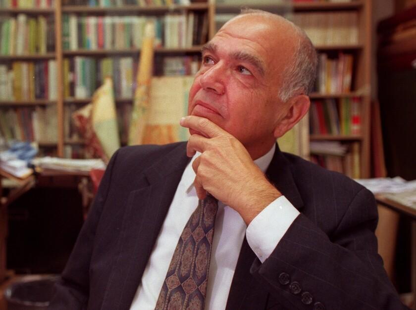 UCLA history Professor Richard Hovannisian in 1997.