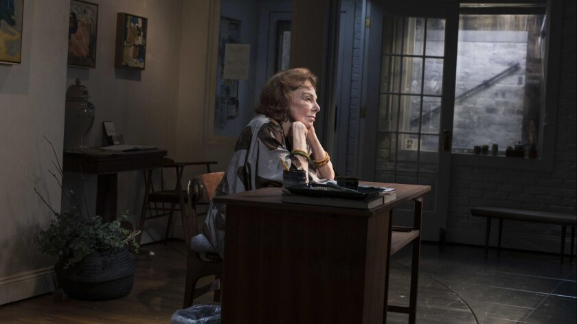 """Elaine May in Kenneth Lonergan's """"The Waverly Gallery,"""" directed by Lila Neugebauer at the Golden Th"""