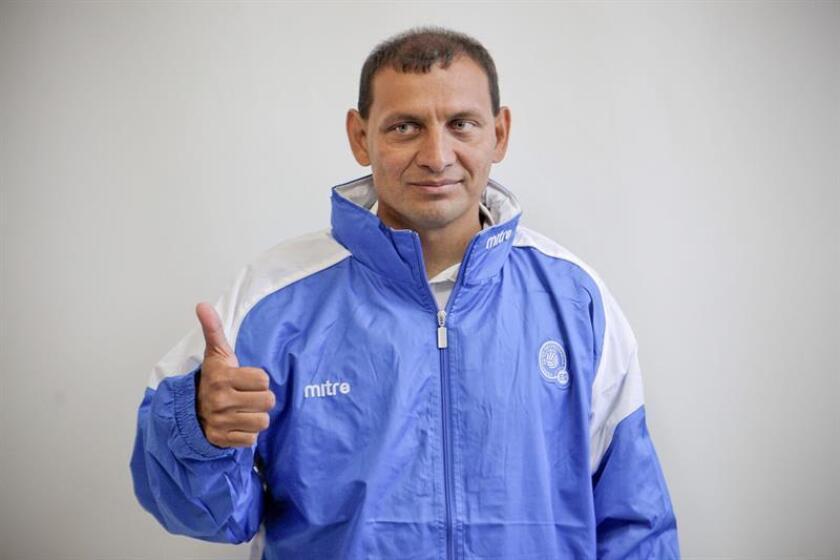 """Jorge """"Zarco"""" Rodríguez, entrenador del Alianza salvadoreño. EFE/Archivo"""